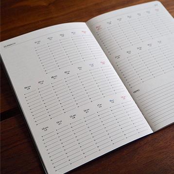 イメージ:KURASUの手帳