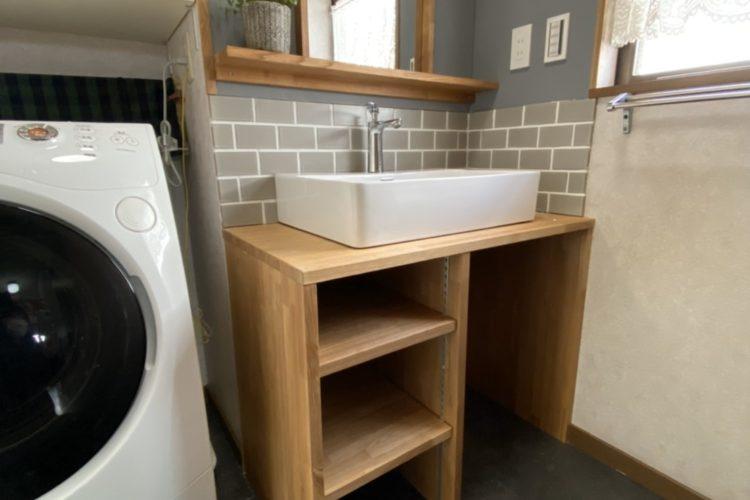 DIY+プロで洗面リフォーム!