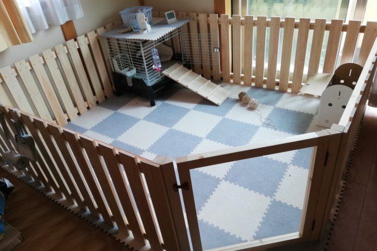 ウサギ小屋DIY